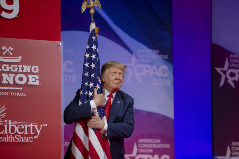 Trump slams socialism, Green New Deal at CPAC