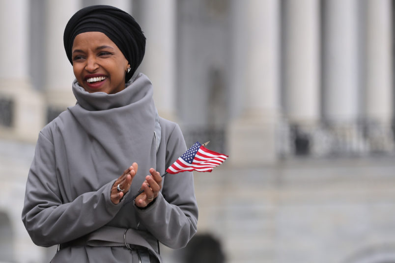 Fox Host Under Fire for Saying Rep. Omar's Hijab Unconstitutional