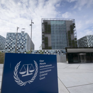 THE HAGUE, NETHERLANDS - JULY 30: Exterior View of new International Criminal Court building in The Hague  on July 30, 2016 in The Hague The Netherlands.  (Photo by Michel Porro/Getty Images) *** Local Caption ***