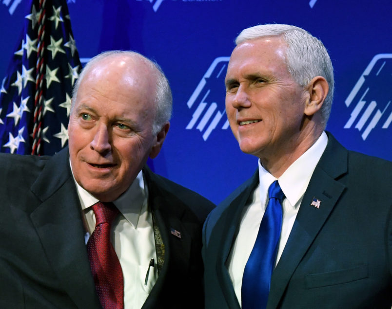 Cheney Lectures Pence Over Trump's Foreign Policy