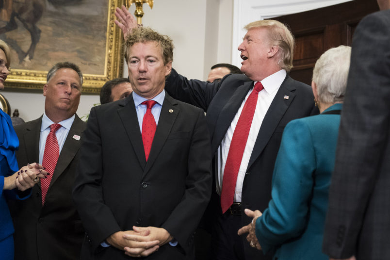 Rand Paul to Vote with Dems and RINOs Against Trump's Emergency Declaration
