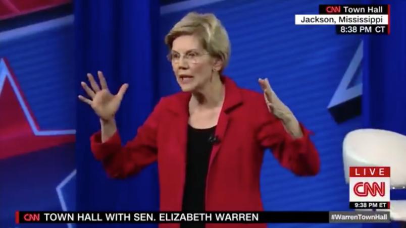 Elizabeth Warren Calls For Getting Rid Of The Electoral College