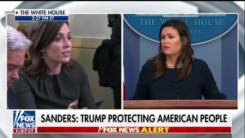 White House Tells Reporter She Should Ask Democrats If They Hate Jews