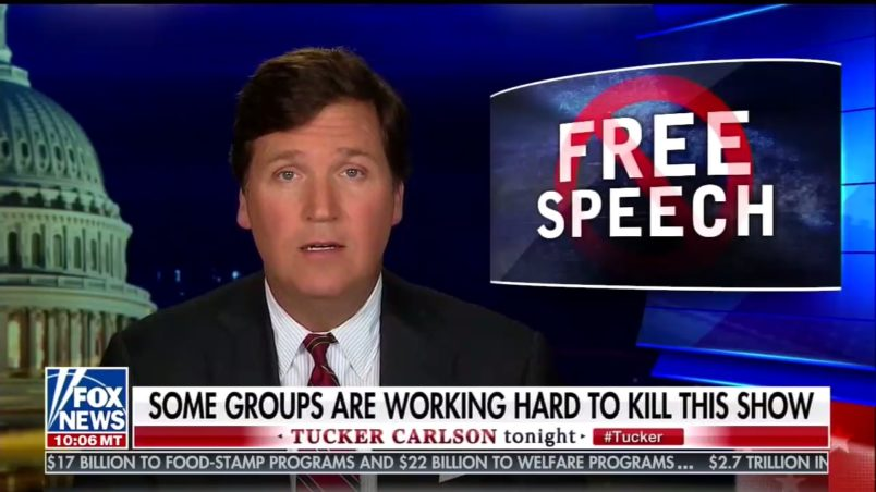 Tucker Carlson calls women 'extremely primitive' in newly surfaced audio