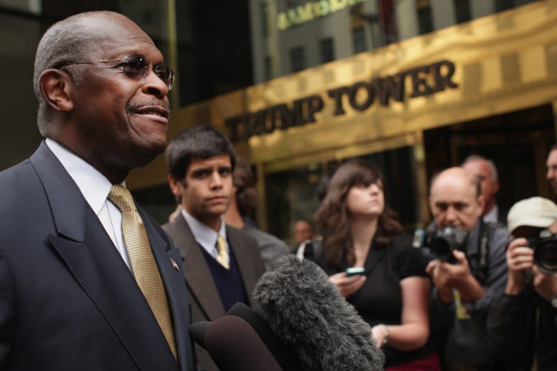 Trump picks former presidential candidate Cain for Fed board